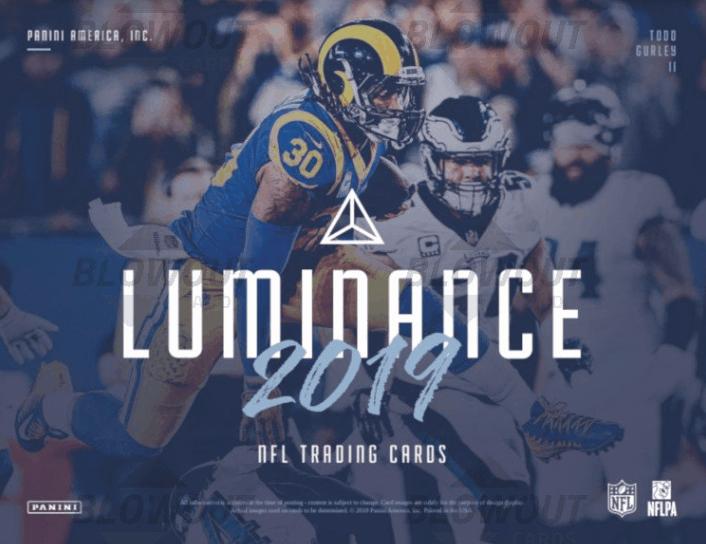 2019 Panini Luminance Football Autograph Jerseys Checklist