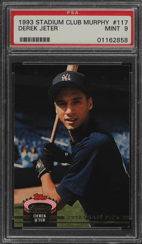 derek jeter rookie cards