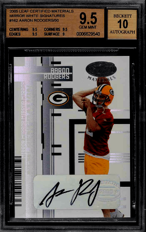Aaron Rodgers Rookie Card Checklist