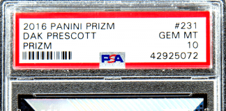 best Dak Prescott rookie card