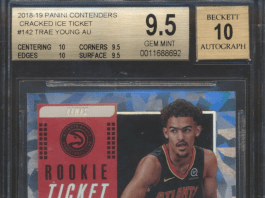 Trae Young rookie card