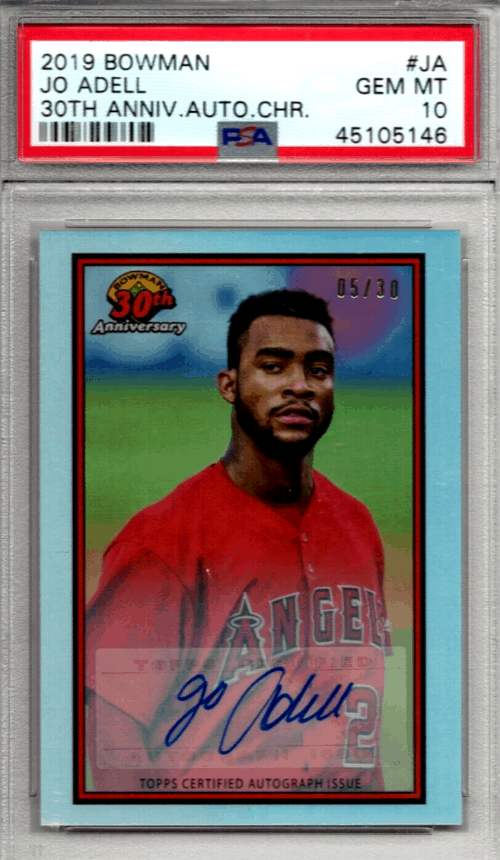 best jo adell rookie cards bowman