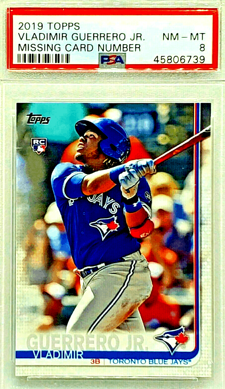 Vladimir Guerrero Jr. Rookie Card