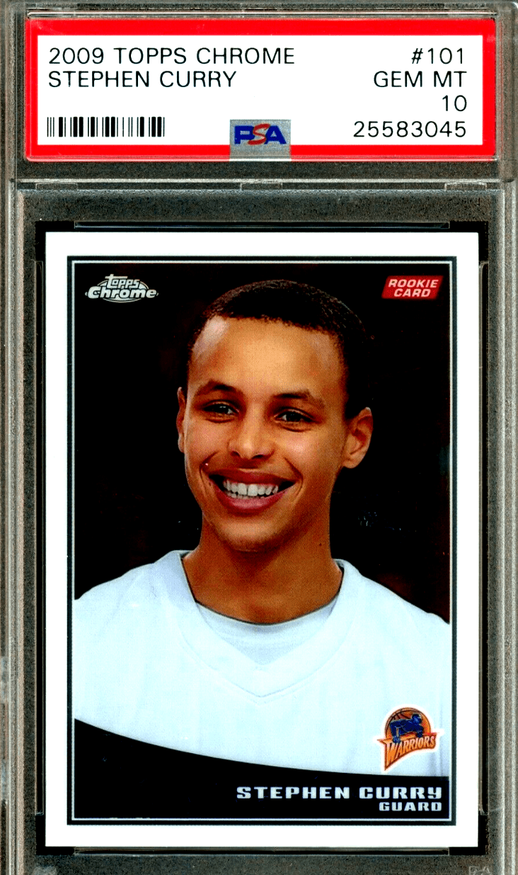 Stephen Curry rookie card