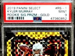 Kyler Murray rookie card