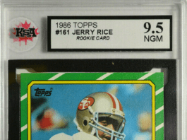 Jerry Rice Rookie Cards