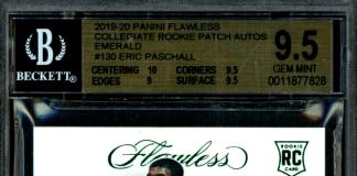 Eric Paschall rookie card prizm