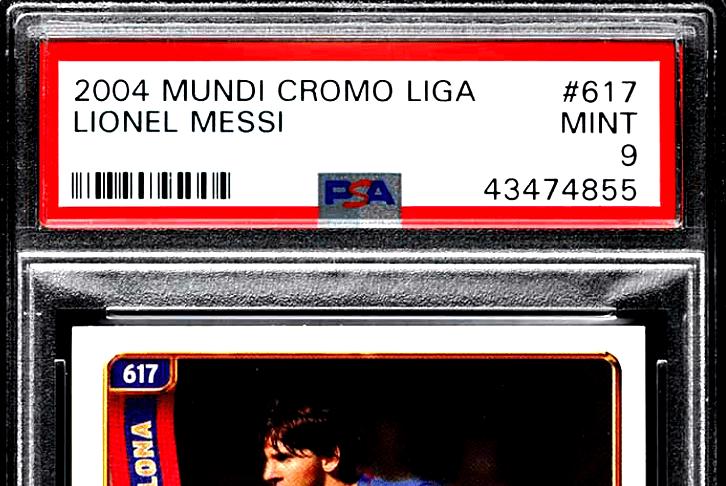 Lionel Messi rookie card