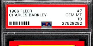 Charles Barkley rookie card