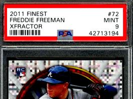 Freddie Freeman rookie cards
