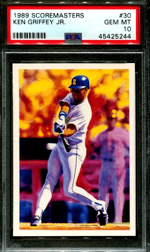 Ken Griffey Jr Scoremasters rookie card