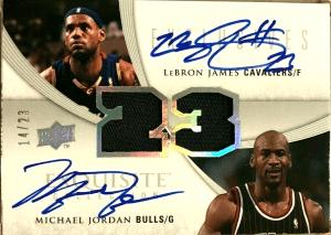 Most valuable michael jordan nba card
