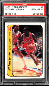 most valuable mj rookie cards