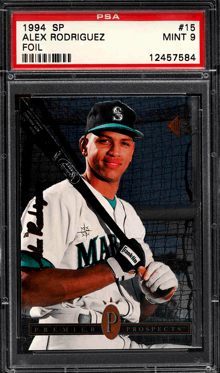 valuable baseball cards fro the 1990s