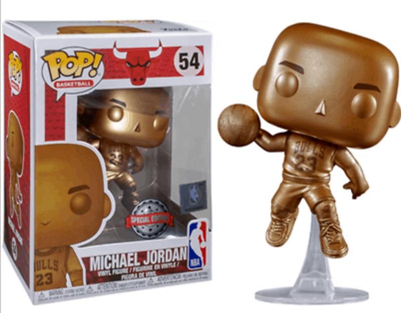 Michael Jordan Funko Pop Bronze