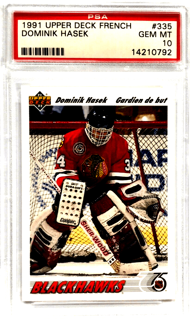 best Goalie hockey Rookie Cards