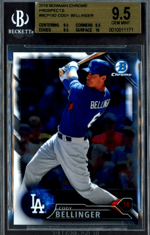cody bellinger rookie cards