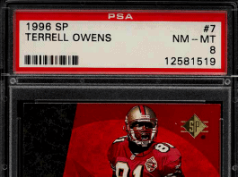 Terrell Owens Rookie Card