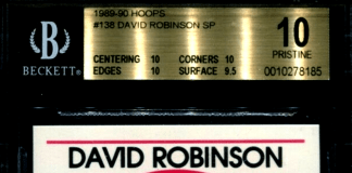 David Robinson Rookie Card