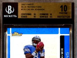 Calvin Johnson Rookie Cards