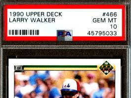 Larry Walker Rookie Cards