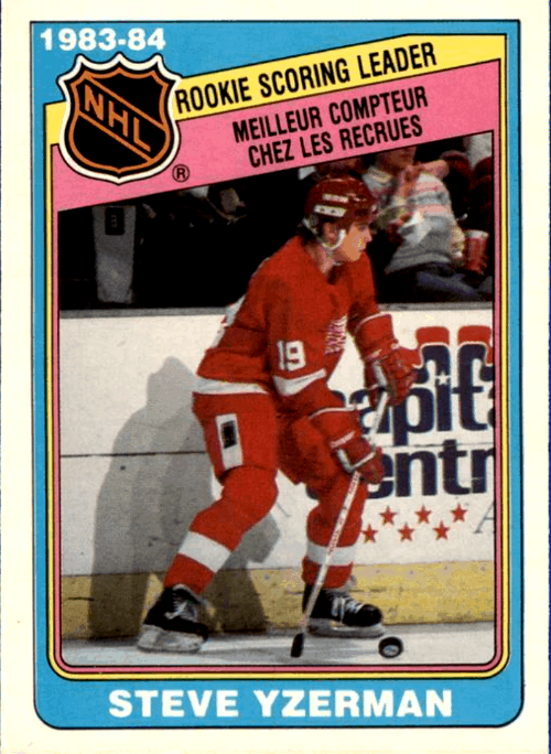 Steve Yzerman O-Pee-Chee Set Break RC