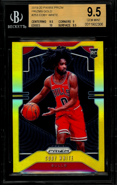 Coby White Rookie Card
