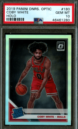 coby white optic rookie card