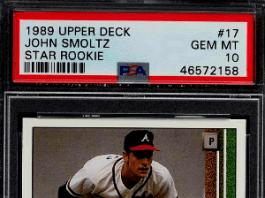 john smoltz rookie card upper deck