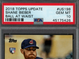 best Shane Bieber rookie cards