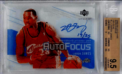 LeBron James Autograph Cards Checklist