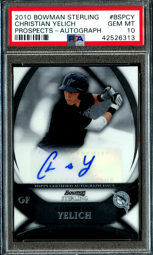 Christian Yelich Rookie Card Value