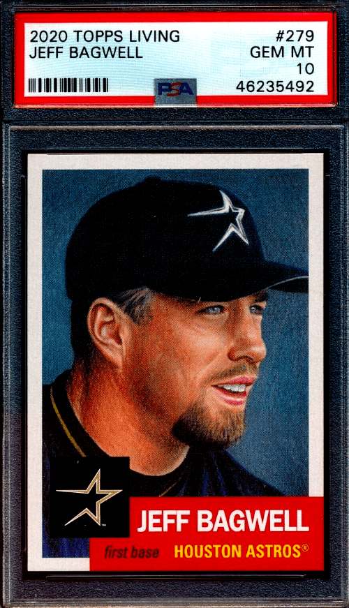 2020 Jeff Bagwell Topps Living Set