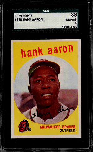 1959 Hank Aaron Topps