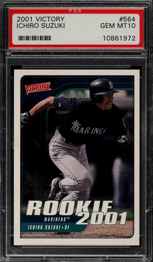 2001 upper deck ichiro suzuki rookie card